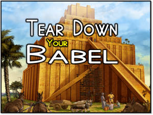 Tear Down Your Babel