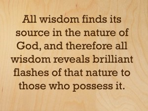 The Key To Wise Living (Pict 2)