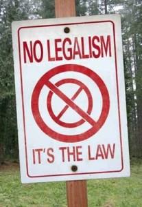 legalism sign