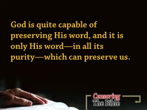 Cesoring The Bible 4