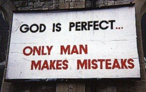 Church-Sign-God-is-perfect