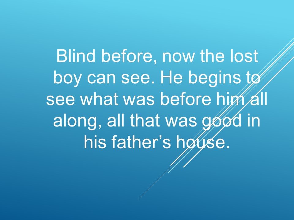 Christs parable of the prodigal son and lost brother