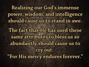 Mercy Endures (Pict 2)