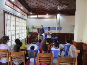 Worship in Cambodia