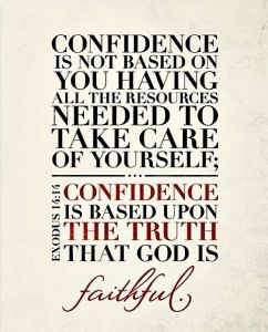confidence quotation