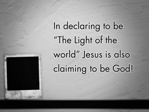 Jesus is the Light of the World (Pict 2)