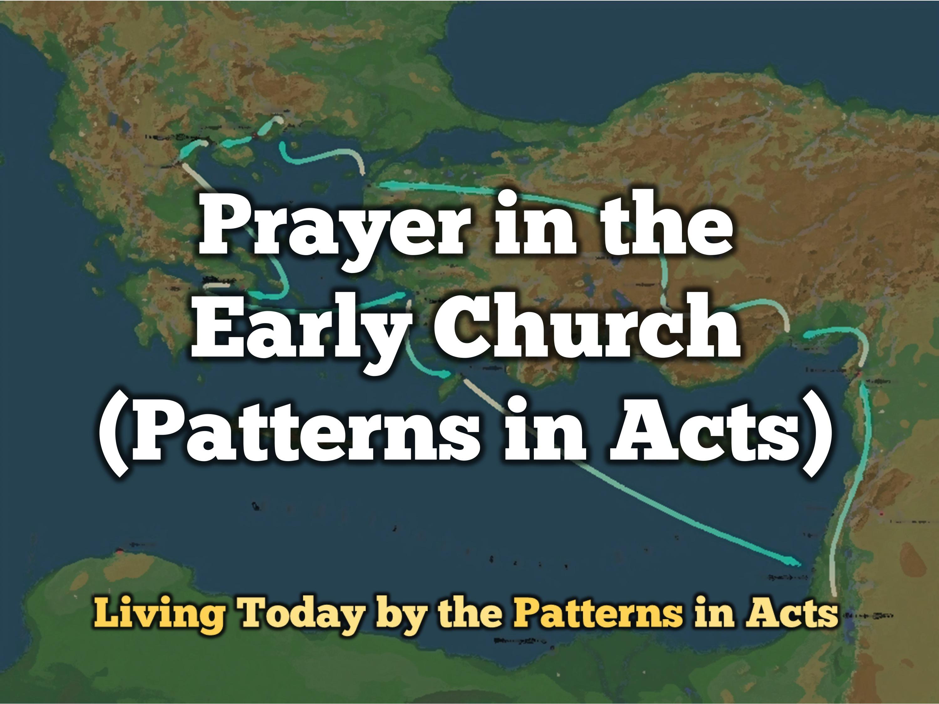 prayer-in-the-early-church
