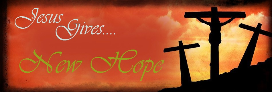 Jesus gives hope