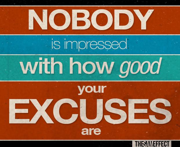 excuses(3)