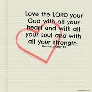 Love the Lord thy God