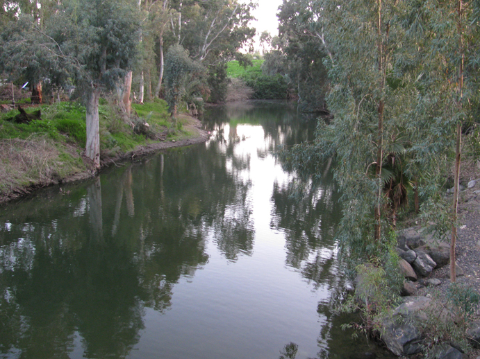 Jordan River Near the Sea of Galilee