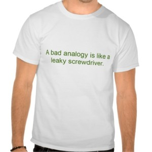 bad analogy