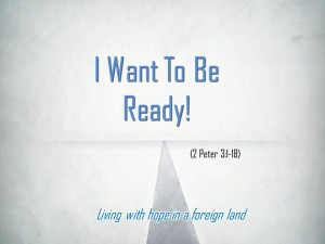 I Want to be Ready (Pict 1)