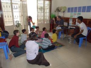 Bible Class In Cambodia