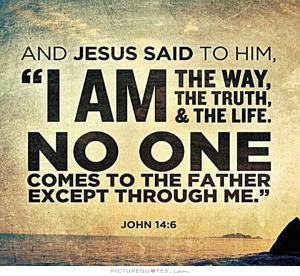 Jesus way truth and life #1