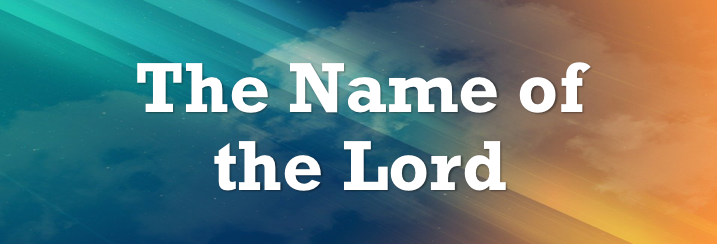 The-name-of-the-Lord