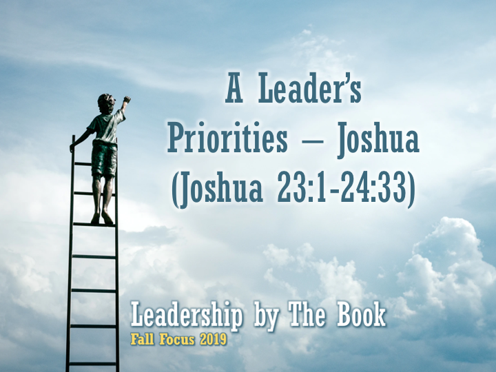 a-leaders-priorities-joshua
