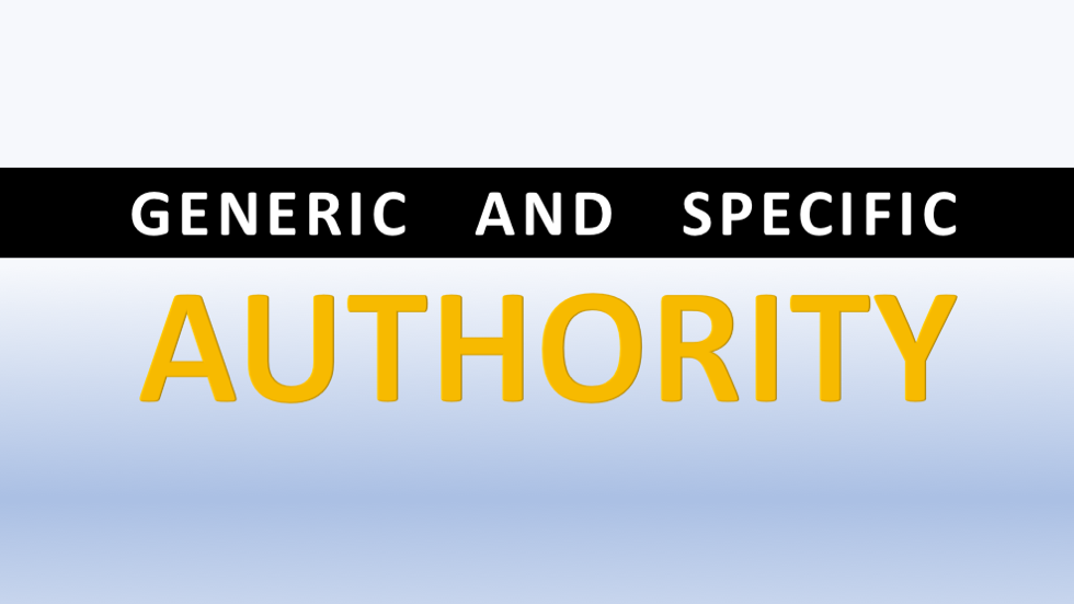 generic-and-specific-authority